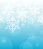 Abstract winter holidays background