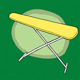 Yellow Ironing Board