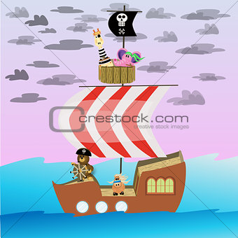 Bean Bag Pirates