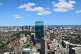 View of Boston, Massachusetts.