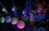 Coloful bubbles