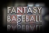 Fantasy Baseball Letterpress