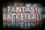 Fantasy Basketball Letterpess