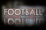 Football Letterpress