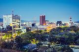 Wakayama, Japan cityscape
