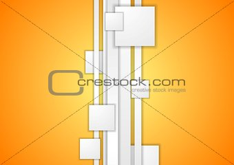 Abstract tech corporate background