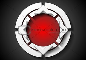 Abstract corporate logo background