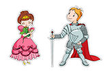 The little princess and the little knight
