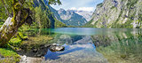 Panorama lake Obersee