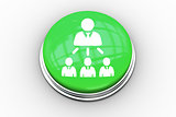 Composite image of company organisational chart graphic on button