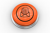 Open envelope graphic on orange button