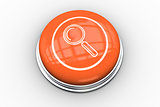 Magnifying glass graphic on orange button