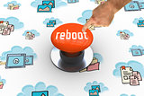Reboot against orange push button