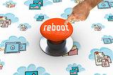 Reboot against orange push button