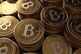 Stacks of Bitcoins
