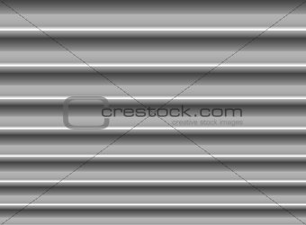 Abstract silver horizontal lines