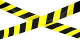 Barrier tape.