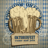 beer background Oktoberfest