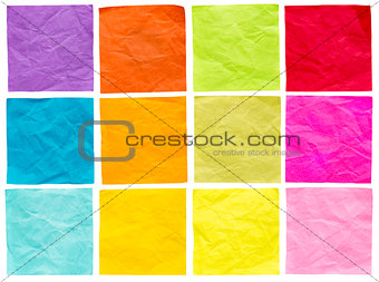blank isolated sticky notes