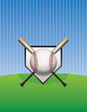 Baseball Background Illustration