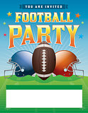 Football Party Illustration