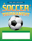 Soccer Football Tournament Illustration