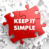 Keep it Simple on Red Puzzle.