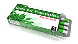 Cure for Prostatitis - Pack of Pills.