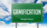 Gamification on Highway Signpost.