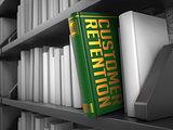 Customer Retention - Title of Book.