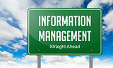 Information Management on Highway Signpost.