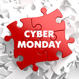 Cyber Monday on Red Puzzle.