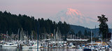 Mt Rainier Yachts Boats and Buildings Gig Harbor Washington Nort