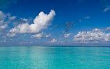 Blue turquoise Ocean water