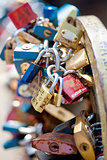 Czech Republic, Prague - Love Padlocks.