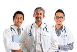 Asian doctors.