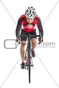 Asian biker