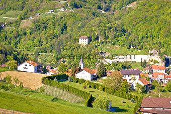 Green hills of Zagorje region