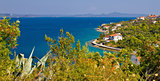 Croatian island Iz panoramic view