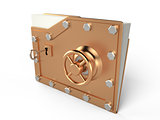 Folder and lock, 3D