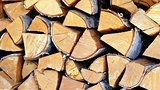 Birch log.