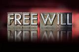 Free Will Letterpress