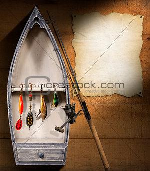 Fishing Tackle - Small Boat