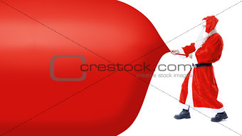 Santa Claus pull