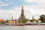 Wat Arun,during the day in Bangkok