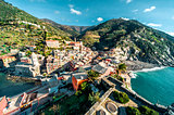 View of Vernazza.