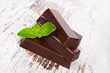 Mint chocolate.