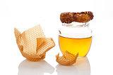 Organic honey.