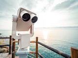 Observation desk. Manarola,Italy