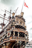 Galeone Neptune ship, tourist attraction in Genoa